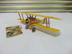 World War I British Sopwith Camel Biplane Detailed Model