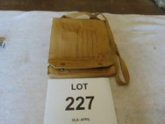 WW 2 Officers Map case marked W & G Co 1944