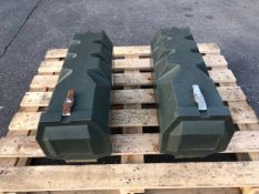 Qty 2 x Jonesco Fire Extinguisher boxes