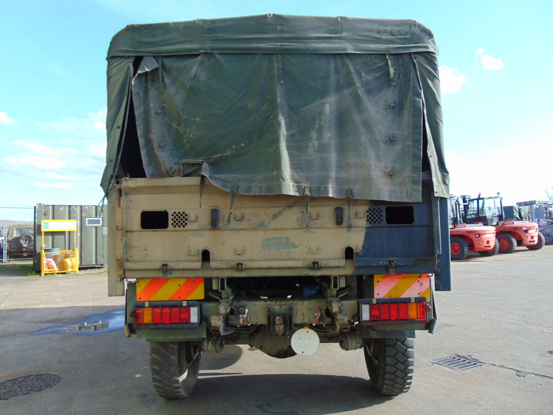 Lot 17 - Leyland Daf 45/150 4 x 4