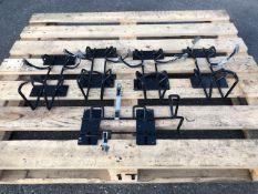 Qty 5 x fire extinguisher mounting brackets