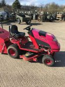 BRITISH MADE COUNTAX C 400 H HYROSTATIC LAWN MOWER WITH COLLECTOR