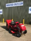 BRITISH MADE COUNTAX C 800 H HYROSTATIC LAWN MOWER WITH COLLECTOR