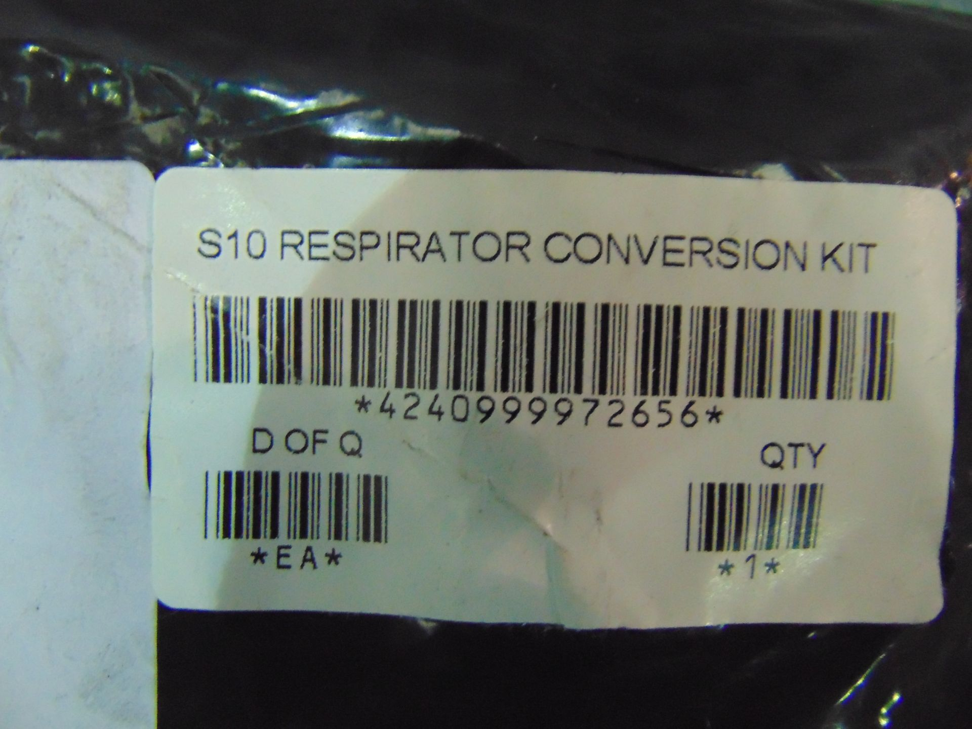 Los 29 - 11 x UNISSUED S10 Respirator Conversion Kit.