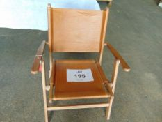 Unissued Officers Camp Chair