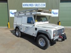 2007 Land Rover Defender 110 Puma Hardtop 4x4 Special Utility (Mobile Workshop) complete with Winch