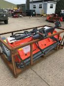 New and Unused Manufactured 2019 Flail Mower with Roller and Hydraulic Side shift