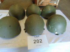 6 x Helmet Combat GS Mk 6 British Army Issue