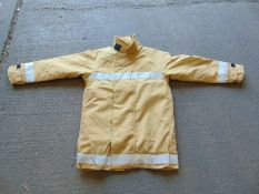 Unissued Ballyclare Firefighters Jacket Size Medium Tall
