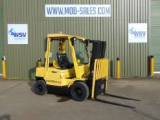 Hyster H2.50XM Forklift ONLY 3,390 HOURS WITH 3 STAGE CONTAINER SPEC MAST