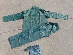 Qty 20 x UNISSUED Large B-Dri Weatherproof Suits