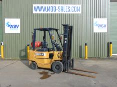 CAT GP18K 1750Kg Gas Fork Lift Truck ONLY 5.516 HOURS!