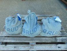3 x Heavy Duty Unissued RUD 395/85-R20 Snow Chains