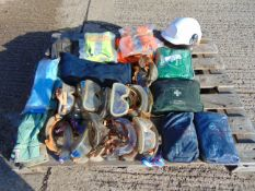 Mixed Safety Equipment inc First Aid Kits, Hi-Viz Clothing, Goggles, Gloves etc