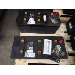 2 x Unissued CAT 354-3614 Dry Charge 12v 190A.H. Batteries