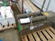 Dantherm Vam 15 portable workshop/building heater 240 volt c/w accessories as shown