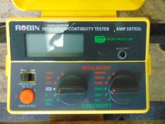 Robin Insulation and Continuity Test Set KMP3075DL