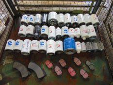Oil Filters, Brake Pads etc