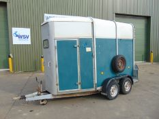 Ifor Williams HB505R Twin Axle 2 Horse Trailer