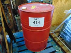 Unissued 205L Sealed Drum of Brenntag Estasol Solvent