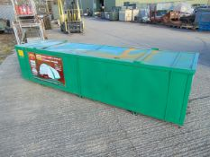 Heavy Duty Storage Shelter 30'W x 40'L x 15' H P/No 304015R