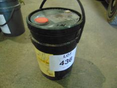 1 x Unissued 20L Sealed Drum of Shell Tellus S2VX Industrial High Performance Hydraulic Oil