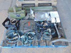 Clansman Cables, Aerials, Bulbs, Ammo Box etc