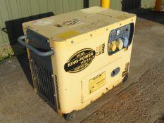 King Power 10000 LN silent Diesel Generator 230/ 110 volt single phase 50 Hz
