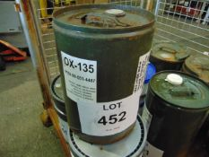 1 x Unissued 20L Sealed Drum of Aircol OX135 High Performance Refrigerant Compressor Oil