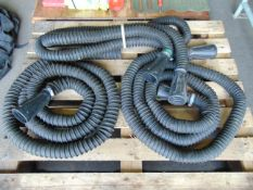 Qty 3 x Land Rover Exhaust Extension Hoses