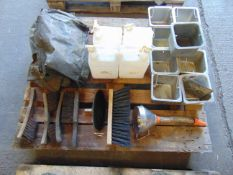 Water Carriers, Boiling Tins, Brushes, Canvas etc