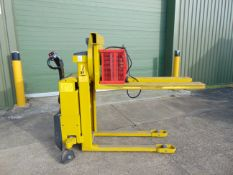 2016 Logitrans Selfra 1002/920 Electric Pedestrian Stacker c/w Rotating Carriage ONLY 61 HOURS!