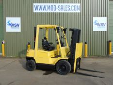 Hyster H2.50XM Forklift ONLY 1,285 HOURS WITH 3 STAGE CONTAINER SPEC MAST.