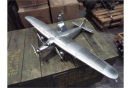 "FORD TRIMOTOR 4-AT ""THE TIN GOOSE"" ALUMINIUM SCALE MODEL"