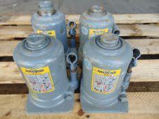 Q 4 Weber 10 Tonne Hydraulic Jacks