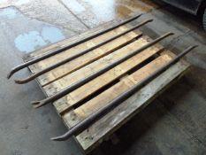 4 x Large Breaker Wrecking Crowbars