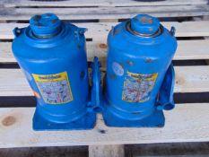 Q 2 Weber 12 Tonne Hydraulic Jacks