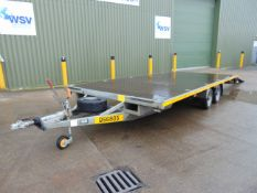 Bateson Twin Axle Flatbed 3.5 Tonne Transporter Trailer with Ramps bed dimensions L 5.8m x W 2.5m