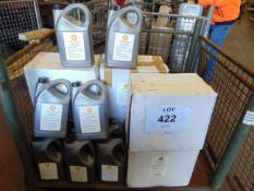 34 x Unissued 5L Sealed Cans of Shell Tellus S2 VX 46 Industrial Hydraulic Oil with Temp Range