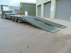 EX RESERVE STOCK King GTS38 Tri Axle Stepframe trailer