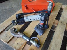 Lukas Hydraulic Rescue Tools inc Hand Pump Cutter etc