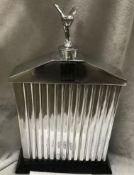 Beautiful Cast Aluminium Rolls Royce Model Radiator with Silver Lady
