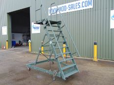 Test-Fuchs Aluminium Collapsible Warehouse Access Steps