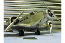 """Junkers Ju 52 """"Iron Annie"""" Aluminium Scale Model"""