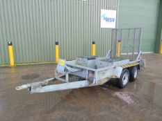 Twin Axle Plant Trailer c/w Ramps