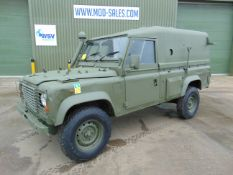 Land Rover Wolf 110 Hard Top with Remus upgrade