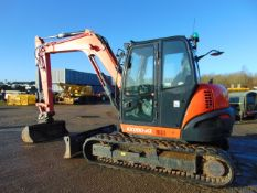 2017 KUBOTA KX 080-4A Excavator 1212 Hrs Only Very High Specification with 3 Buckets Sno 42470