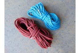 2x HIGH QUALITY CLIMBING ROPES