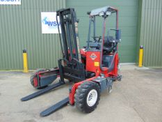 2003 Moffett Mounty M2003 Truck Mounted Forklift c/w Hydraulic Extension Forks ONLY 868 Hours!