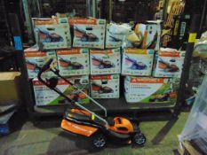 15 x Cordless Lawn Mowers as shown
